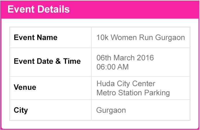 Gurgaon women run