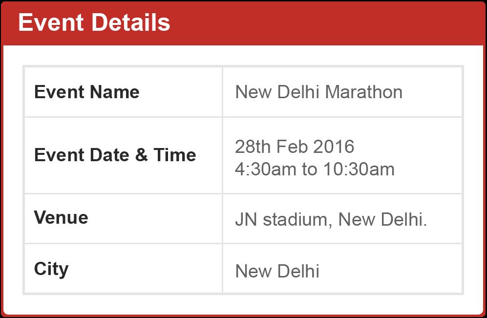 IDBI Delhi Marathon