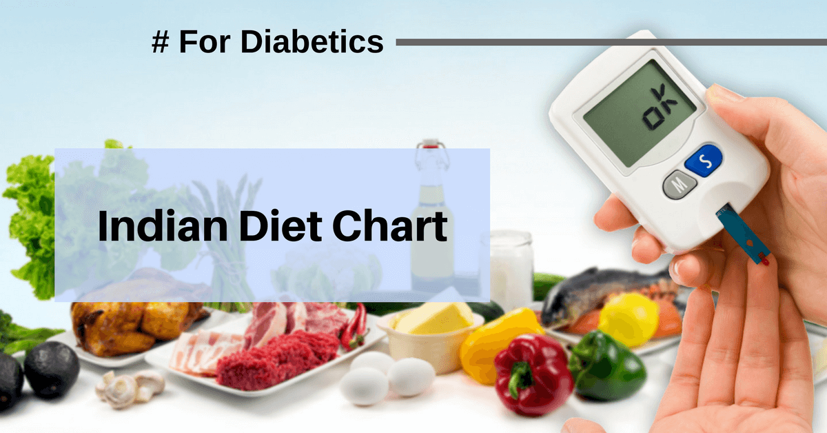 indian diet chart for diabetes patients