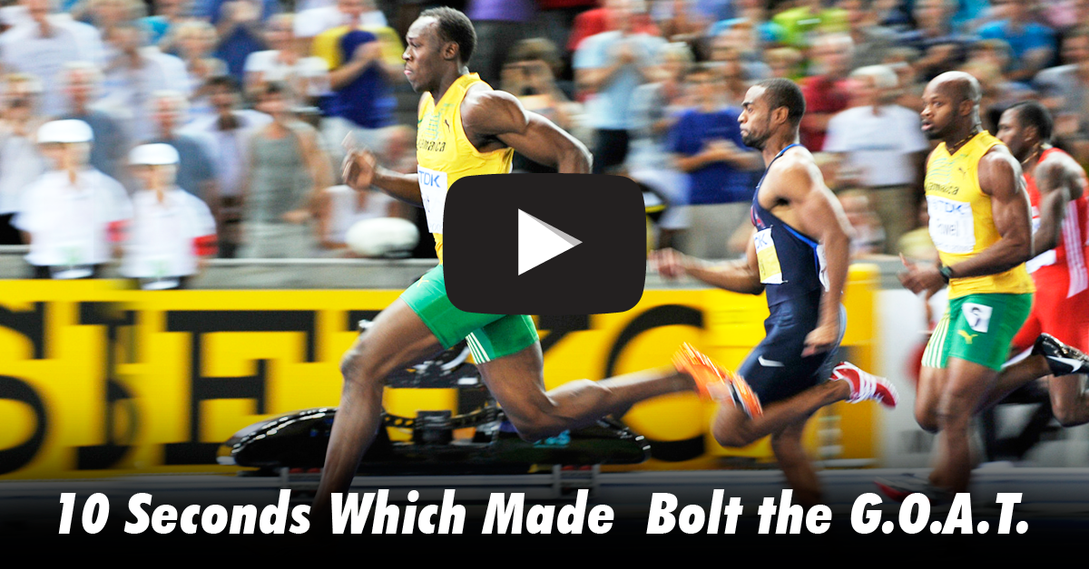 Usain Bolt - Fastest Ever Run