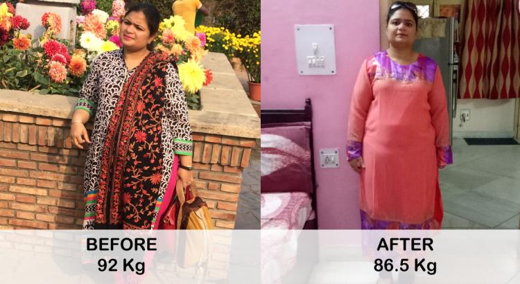 Deepika Sharma - 5 Kg in a Month