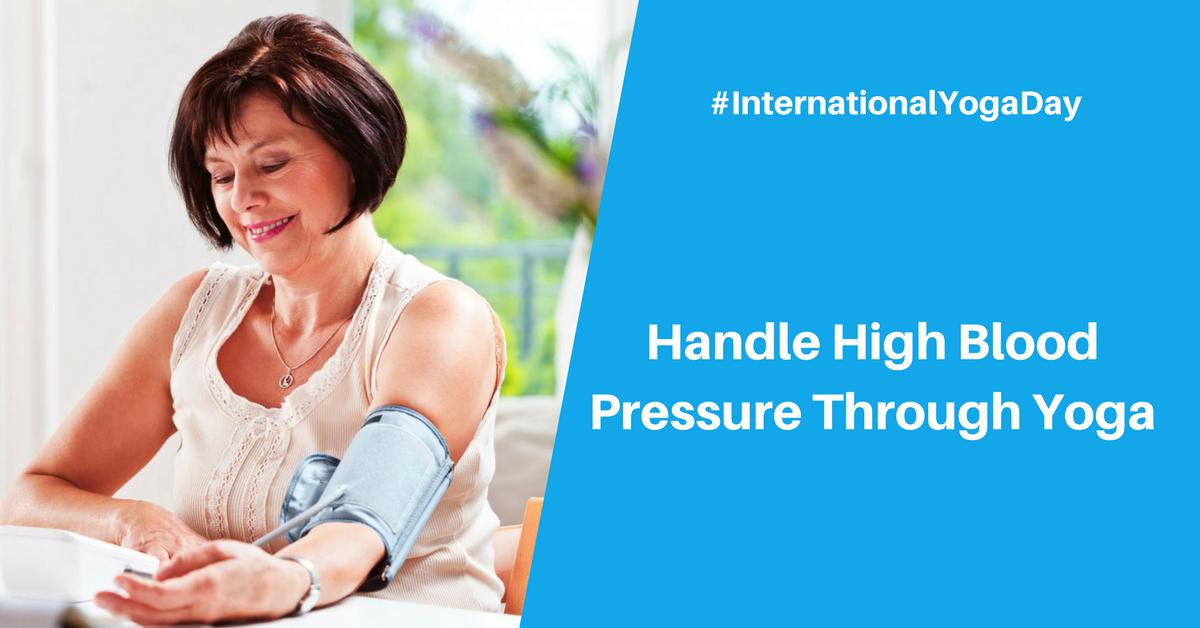 Handle High Blood Pressure Through Yoga
