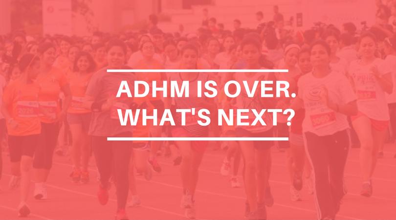 upcoming running events in delhi