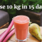 10 kg Weight Loss in 15 Days with Liquid Diet is Going Viral