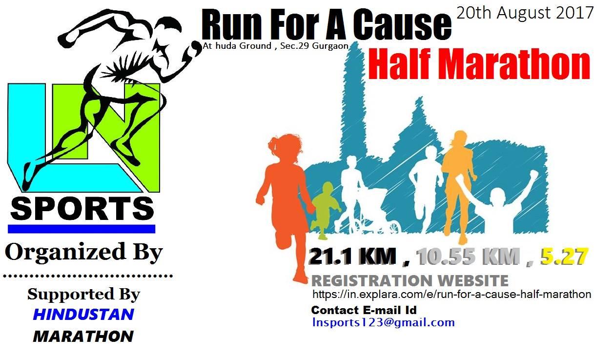 Run For A Cause Half Marathon