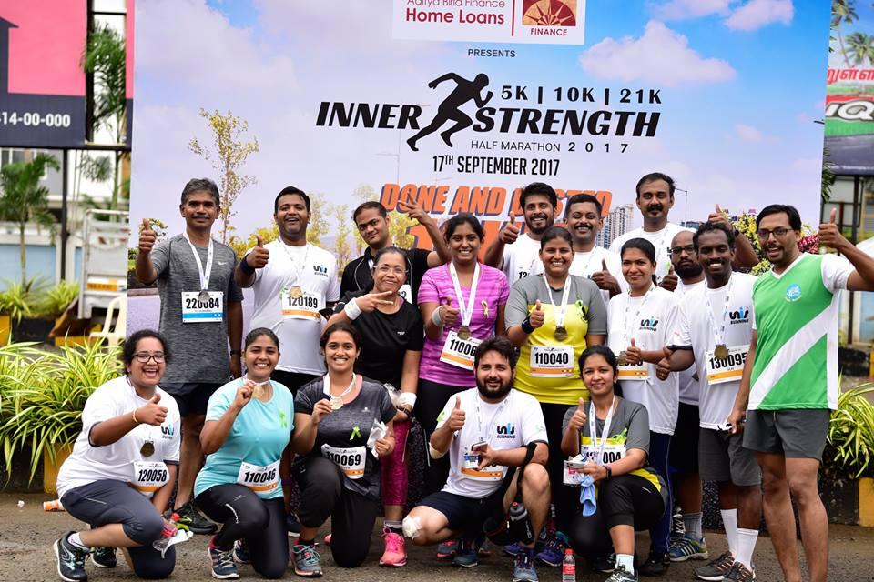 Inner Strength Half Marathon 2018