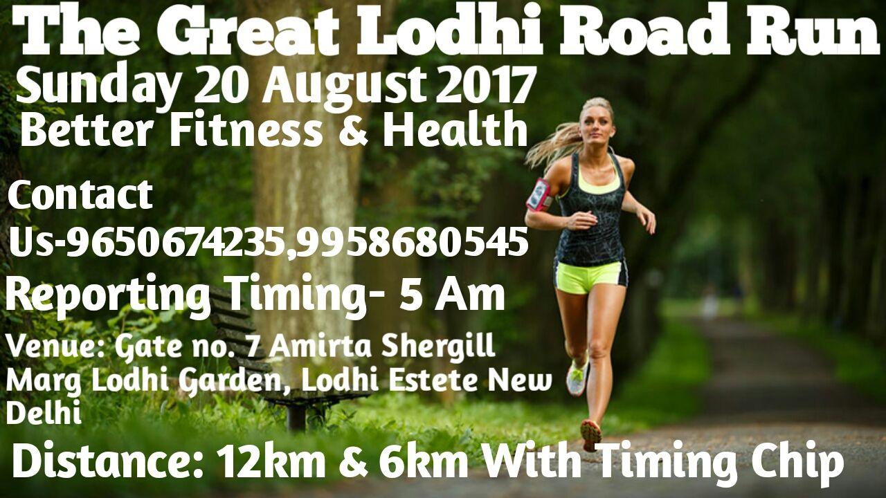 The Great Lodhi Road Run
