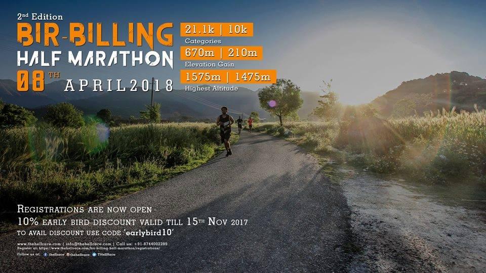 Bir Billing Half Marathon