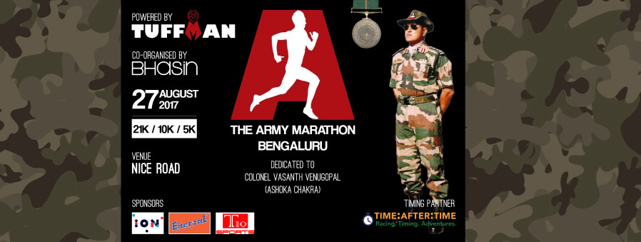The Army Marathon - Bengaluru