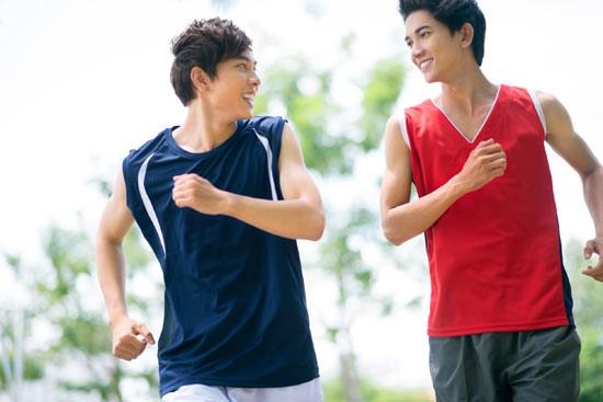 Running partner for weight loss