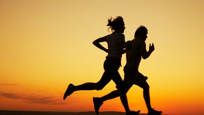 having a running partner