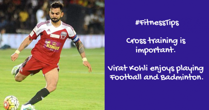 Virat Kohli fitness tips, diet plan and fitness secrets