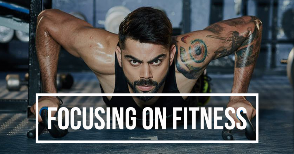 Virat Kohli diet plan and workout plays an important role in his success