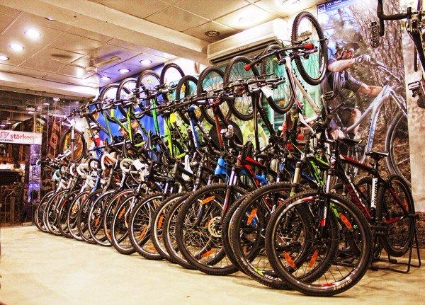 buying bicycle