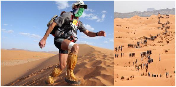 toughest running events - Running in Desert