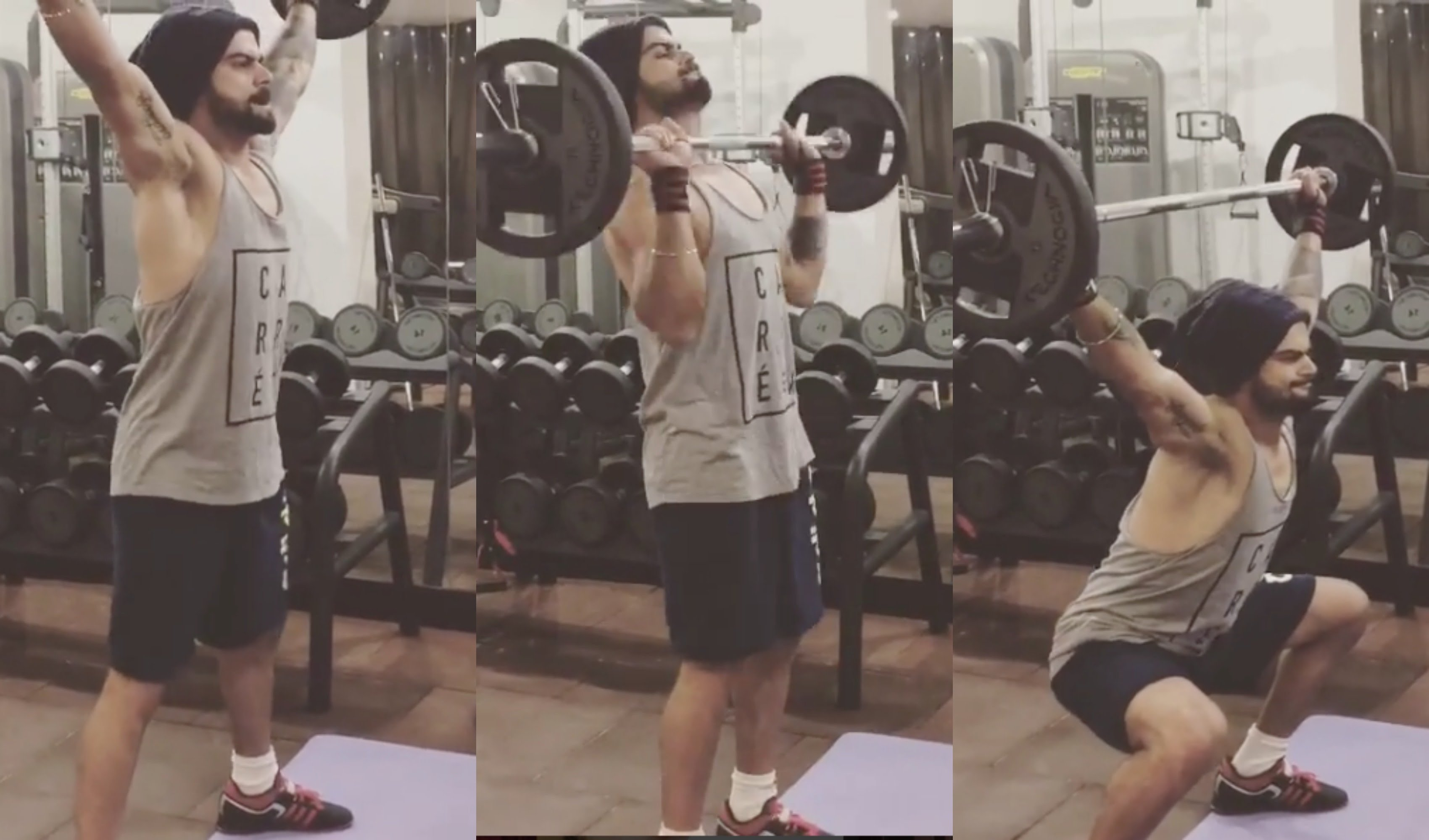 Virat Kohli diet plan and workout routine