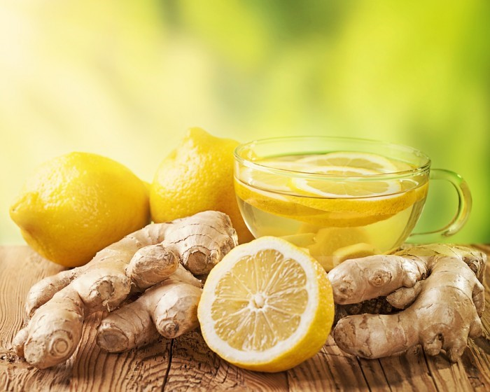 Healthy Tips and Recipes - Ginger Lemon Tea