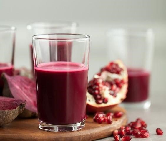 Healthy Tips and Recipes - Pomegranate juice