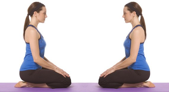 Thunderbolt Pose: Yoga for Weight Loss