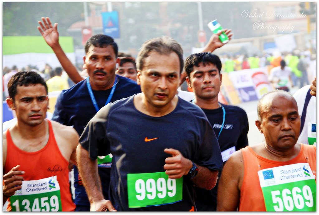 Anil Ambani, CEO and Runner