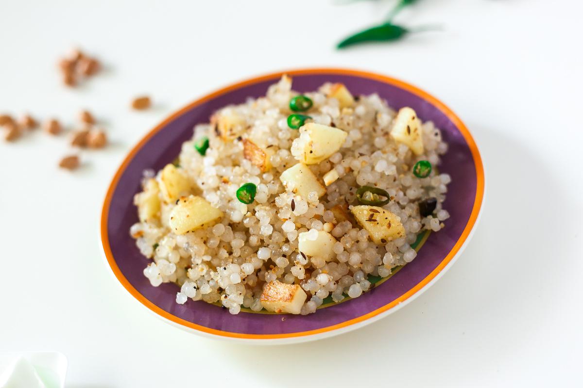 Navratri Food Sabudana khichdi