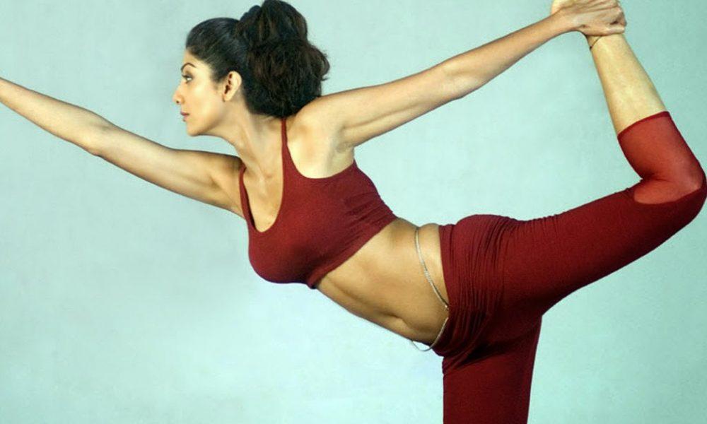 Shilpa Shetty doing Yoga - Fitness Secrets of Celebrities