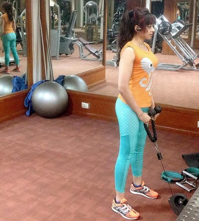 Sapna Vyas Workout Routine