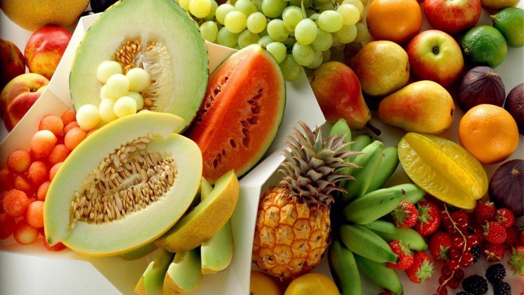 Cantaloupe, Avocado, blackberry, guava are protein rich food