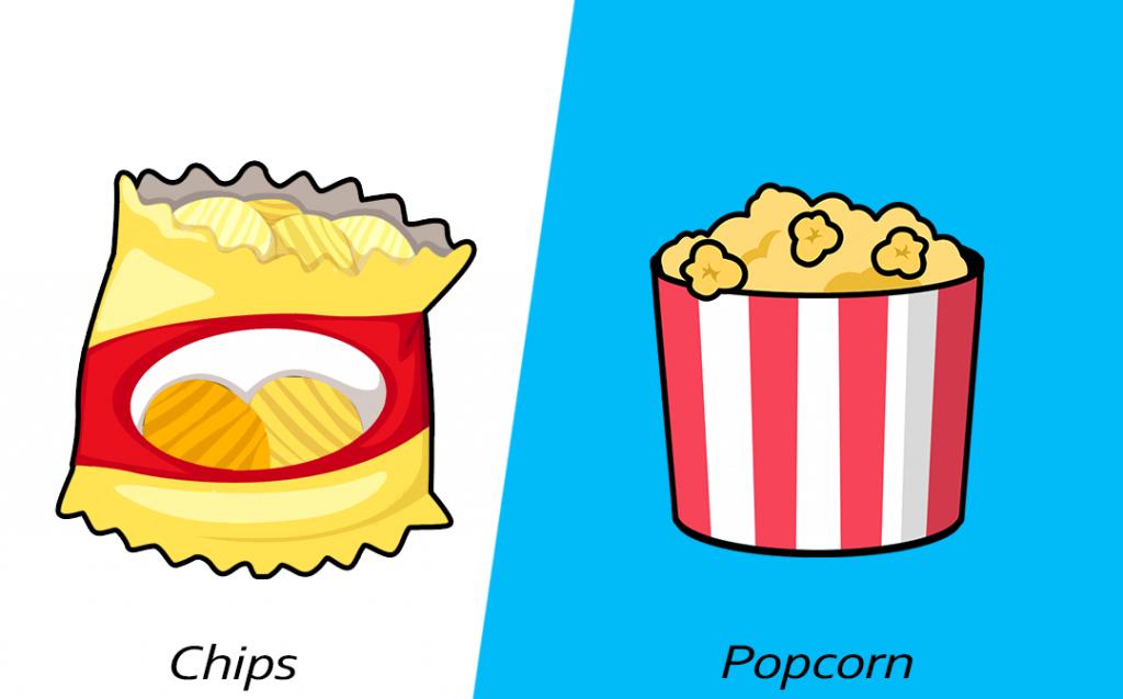 Intelligent food swap - Popcorn over chips