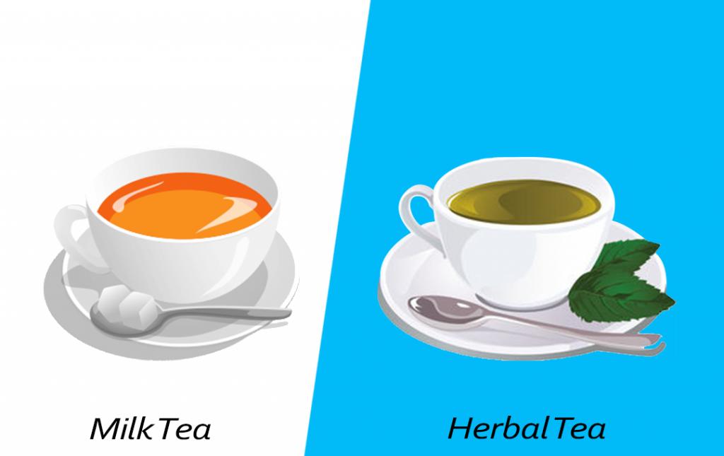 Intelligent food swap - Herbal Tea over Green Tea