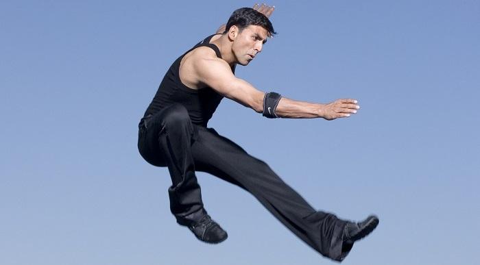akshay kumar workout