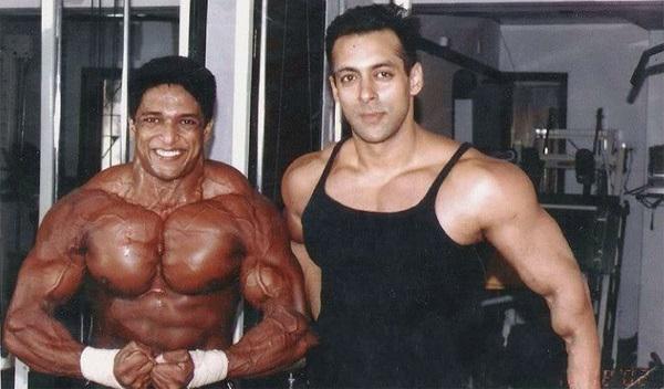 salman khan workout trainer