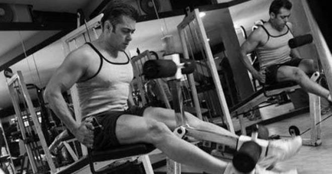 salman khan workout