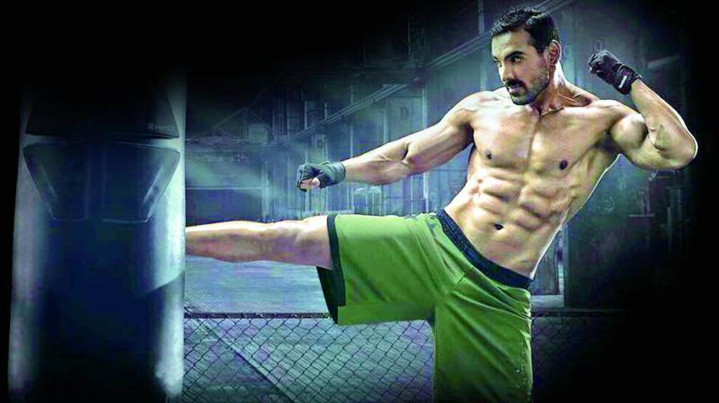 john abraham workout