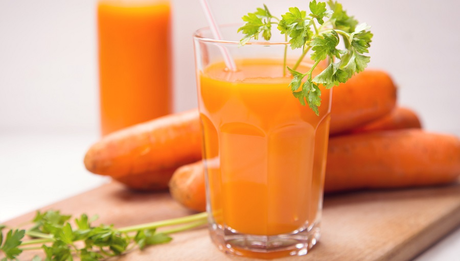 fresh carrot juice, Home remedies for cough