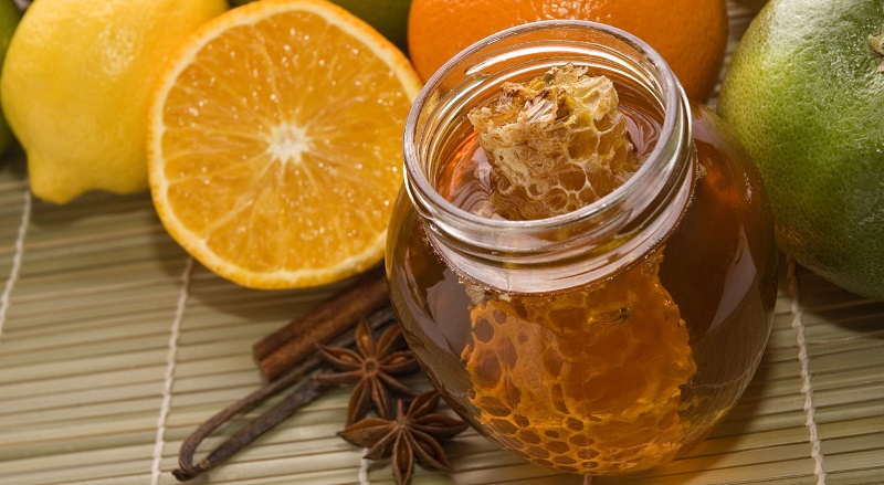 fresh honey, lemons, oranges, cinnamon, vanilla, anise star, Home remedies for cough