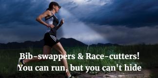 Marathon cheater