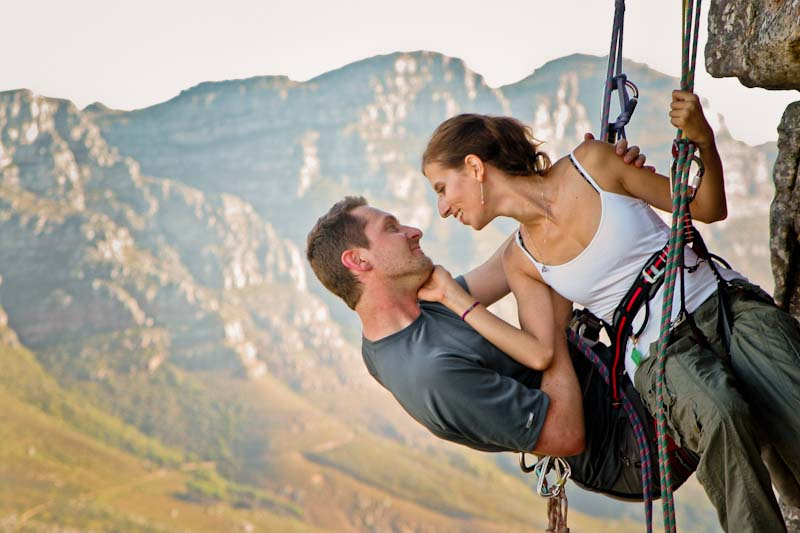 rock-climbing - fitness dates