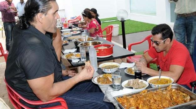 salman khan diet with khali