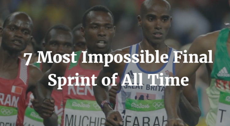 Most impossible running sprint of all time