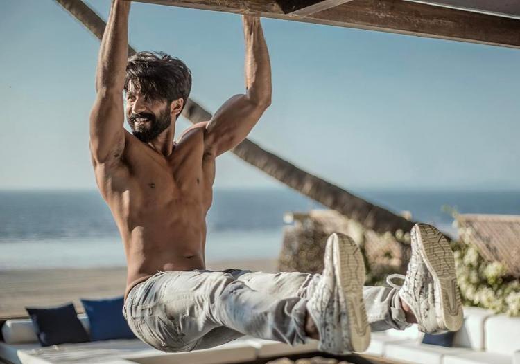 shahid kapoor workout