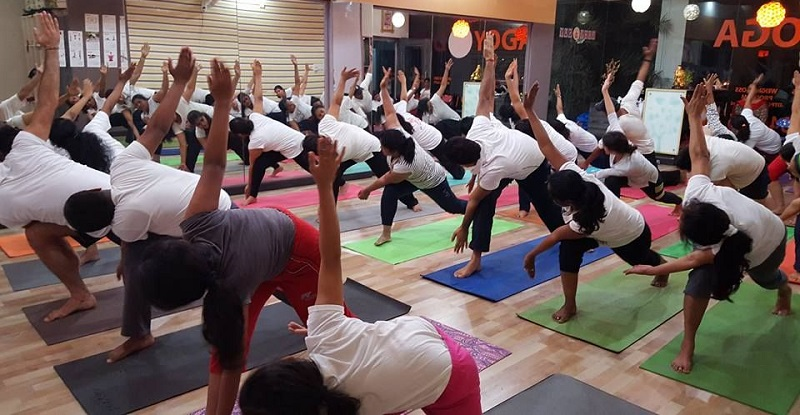 Yoga classess by fitness solutions