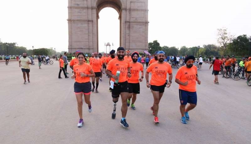 major dp singh running