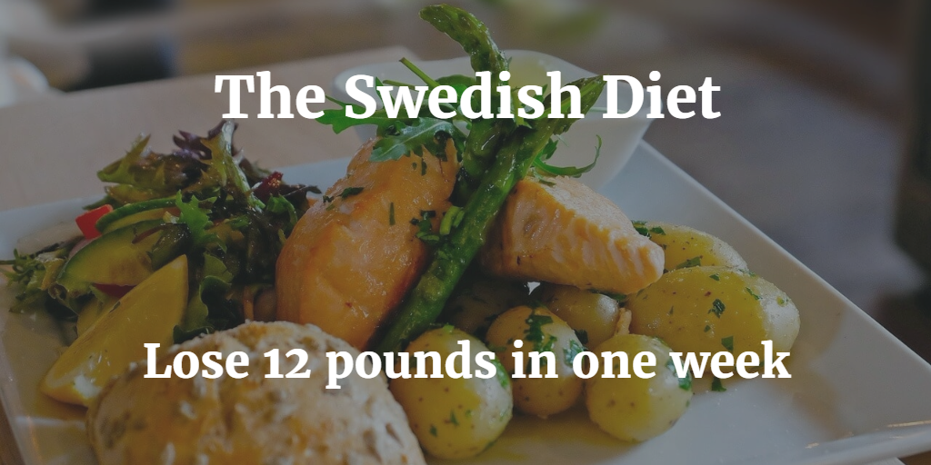 swedish diet plan for weight loss