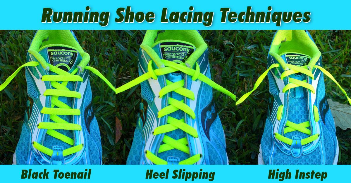 Marathon Shoe Lacing Technique