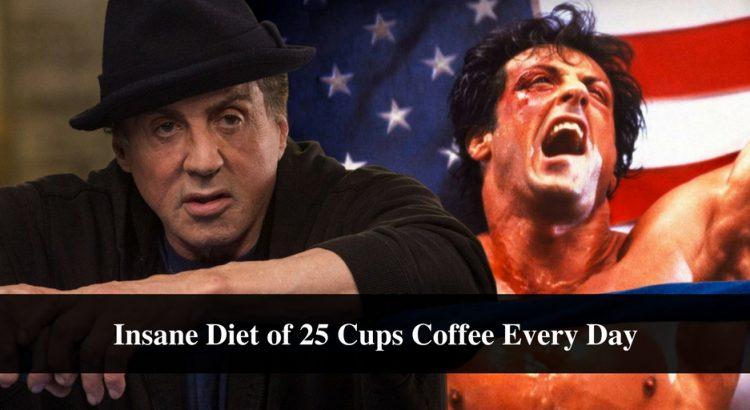 sylvester stallone diet