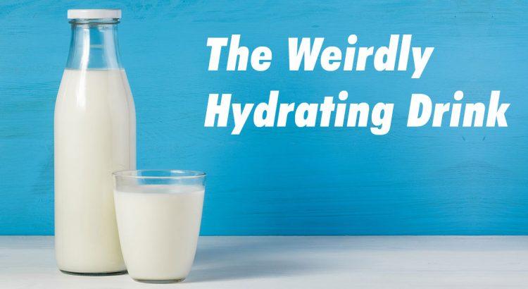 Milk - best post workout drink
