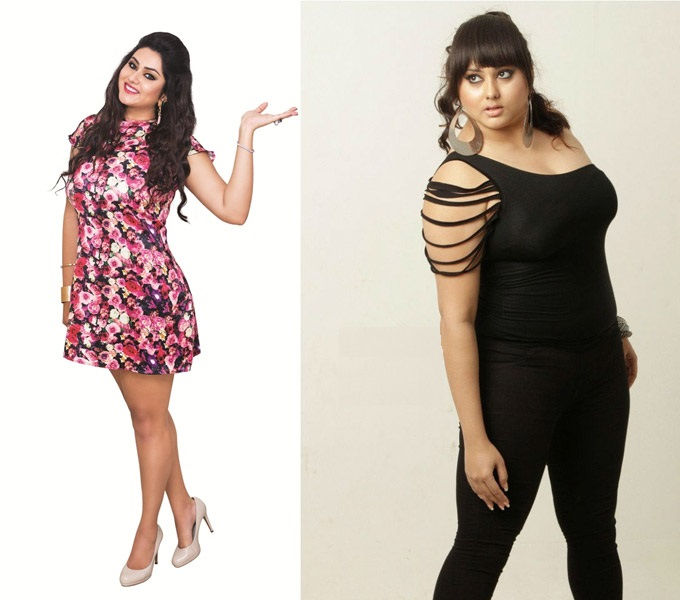 namitha weight loss