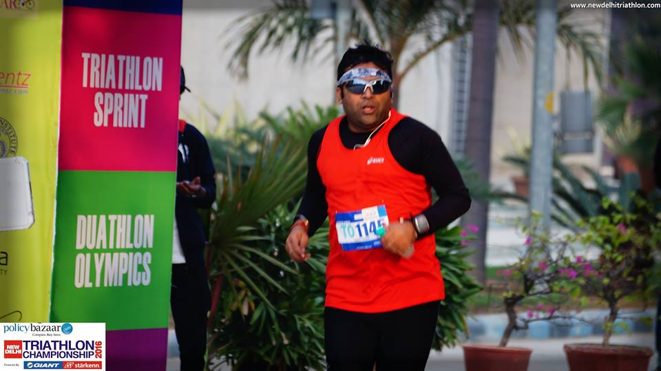 Sachin malik Fitso Ironman Training