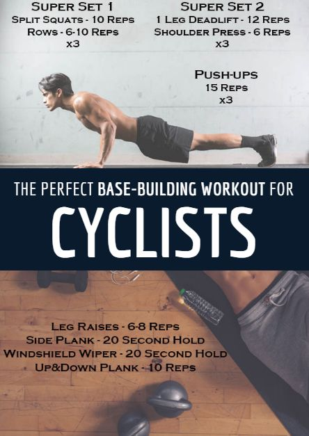 Workout for Cyclists